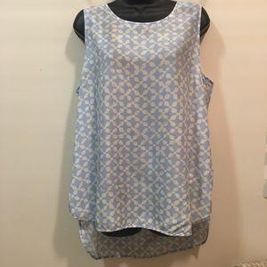 EUC Michael by Michael Kors XL sleeveless blouse